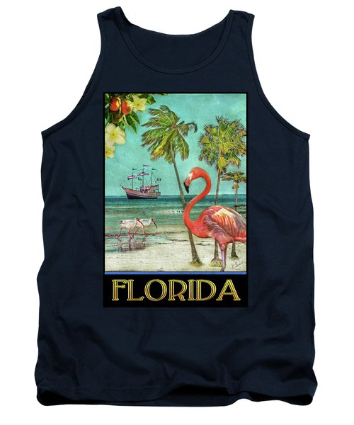 Tank Top featuring the photograph Florida Advertisement by Hanny Heim