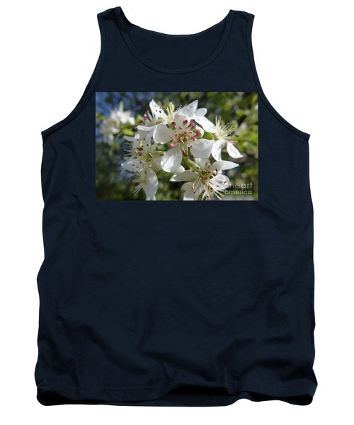 Flowering Of White Flowers 2 Tank Top