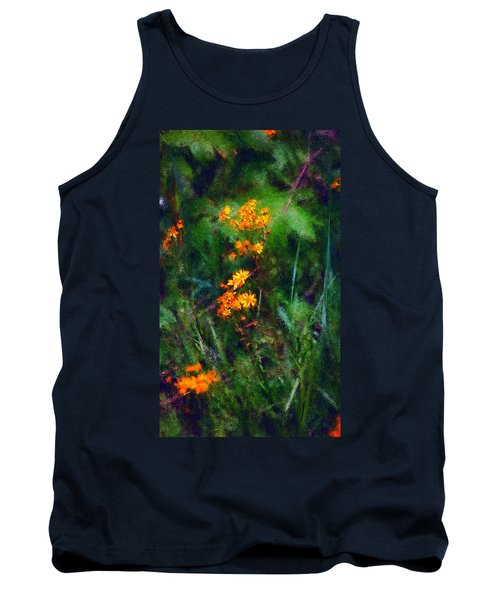 Flowers In The Woods At The Haciendia Tank Top