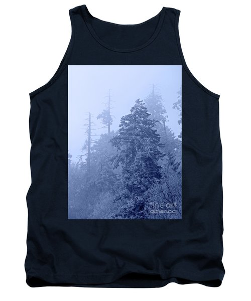 Tank Top featuring the photograph Fog On The Mountain by John Stephens