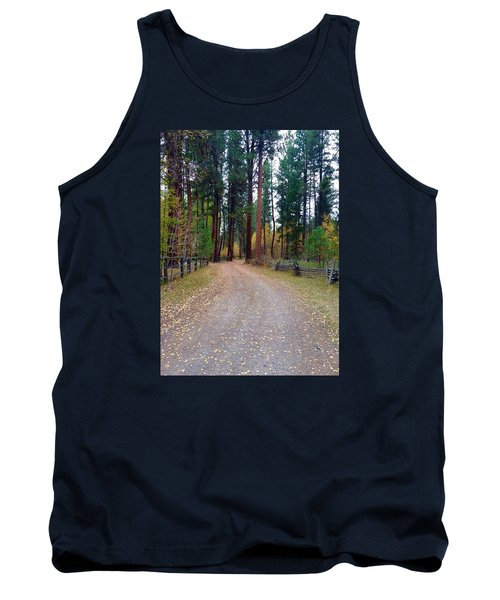 Follow The Road Less Traveled Tank Top