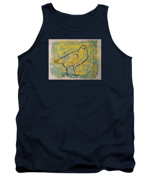 Tank Top featuring the painting For The Love Of Raven by Cynthia Lagoudakis