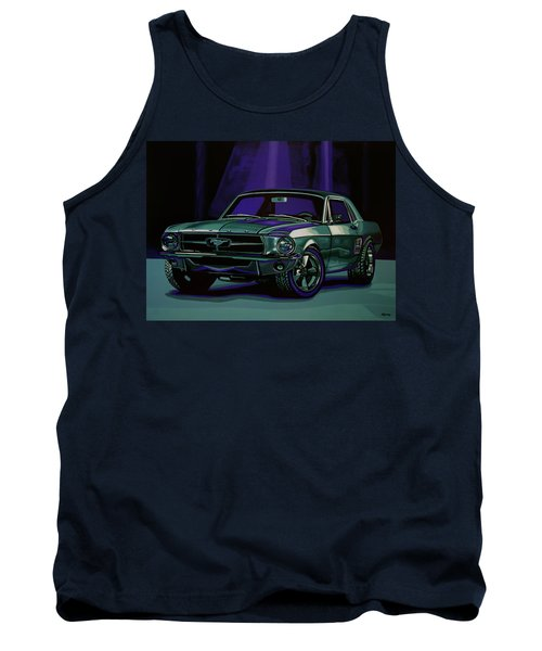 Ford Mustang 1967 Painting Tank Top