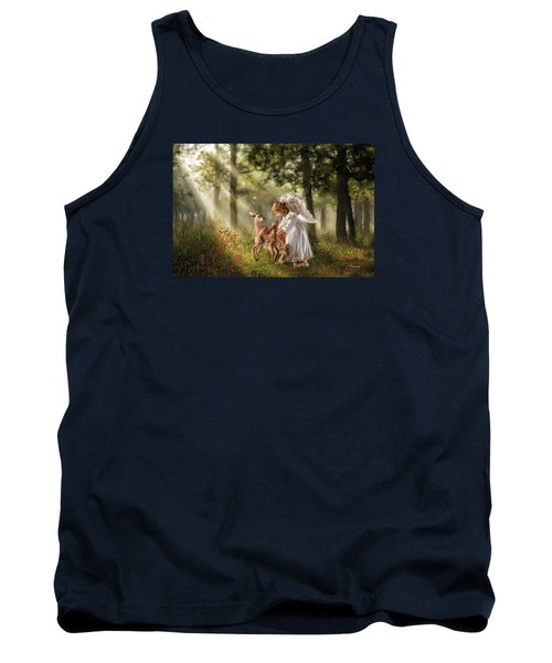 Forest Angel Tank Top