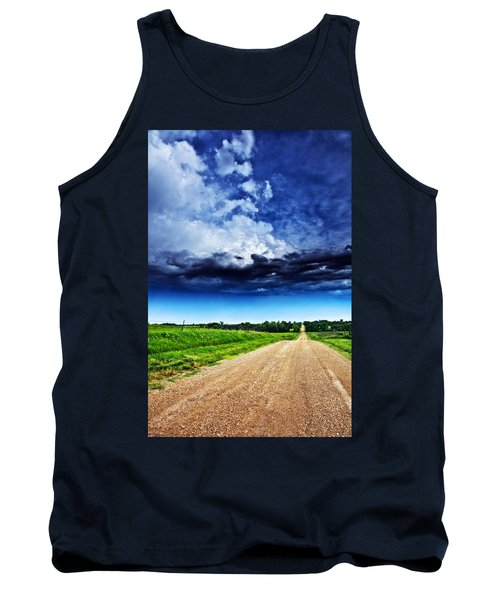 Forming Clouds Over Gravel Tank Top