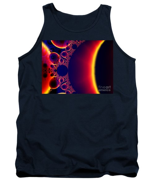 Fractal Galaxy Sunset  Tank Top