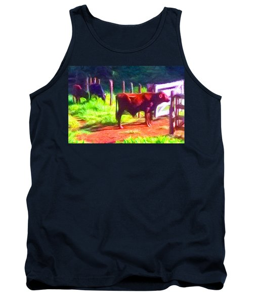 Franca Cattle 2 Tank Top by Caito Junqueira