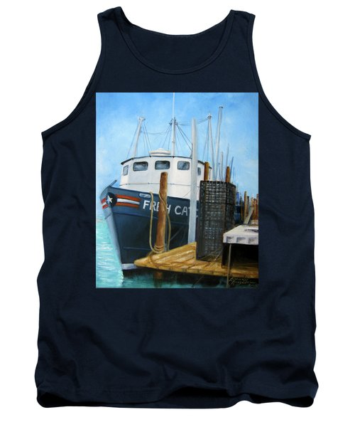 Fresh Catch Fishing Boat Tank Top