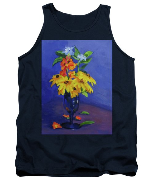 From The Garden Tank Top by Karen Ilari