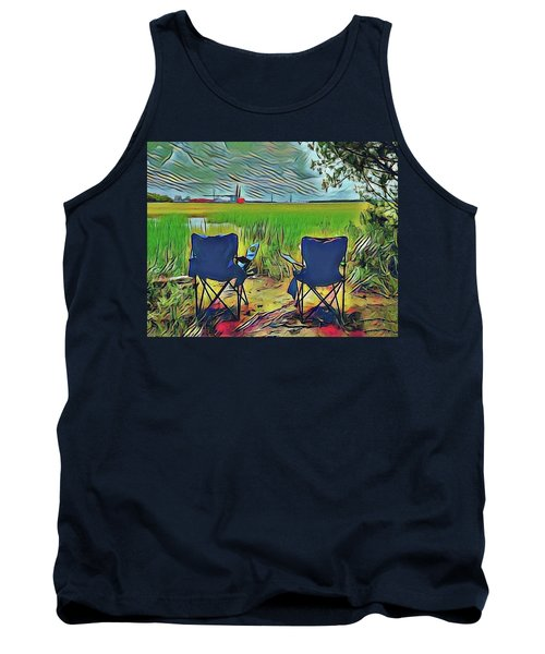 Front Row Seat Tank Top