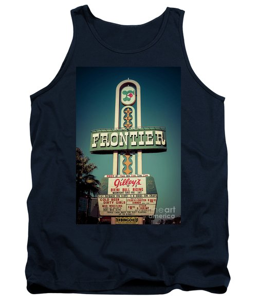 Frontier Hotel Sign, Las Vegas Tank Top