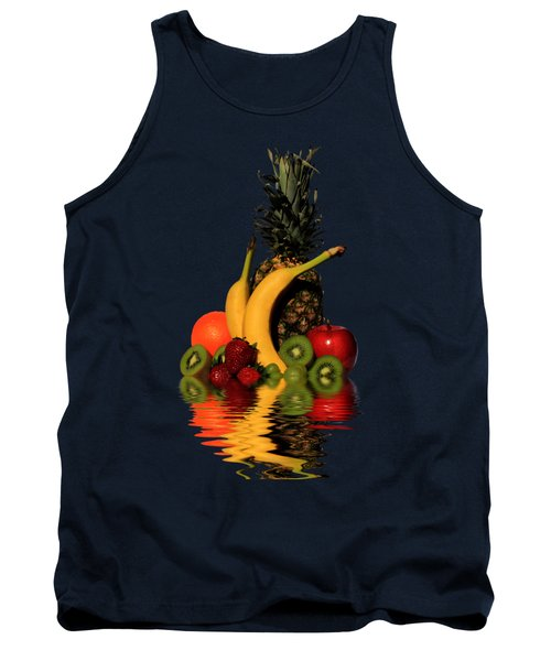 Fruity Reflections - Dark Tank Top by Shane Bechler