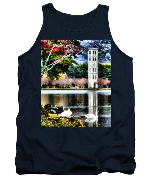 Furman University Bell Tower Tank Top