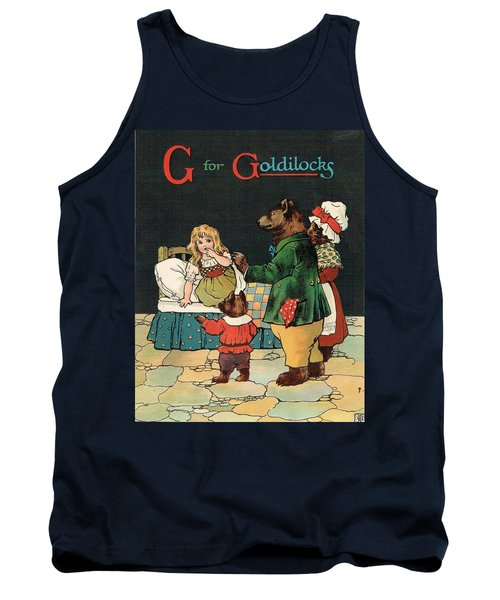 G For Goldilocks Tank Top
