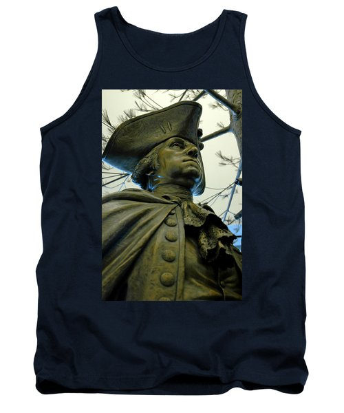 General George Washington Tank Top by LeeAnn McLaneGoetz McLaneGoetzStudioLLCcom