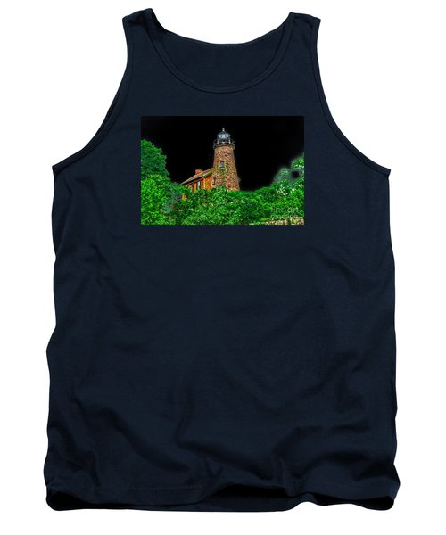 Genesee Lighthouse Tank Top by William Norton