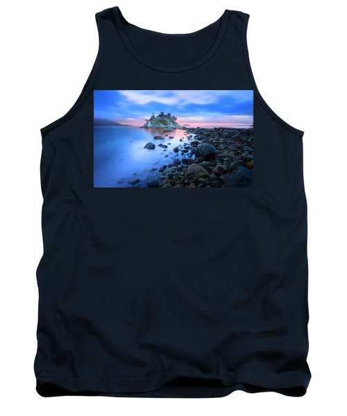 Tank Top featuring the photograph Gentle Sunrise by John Poon