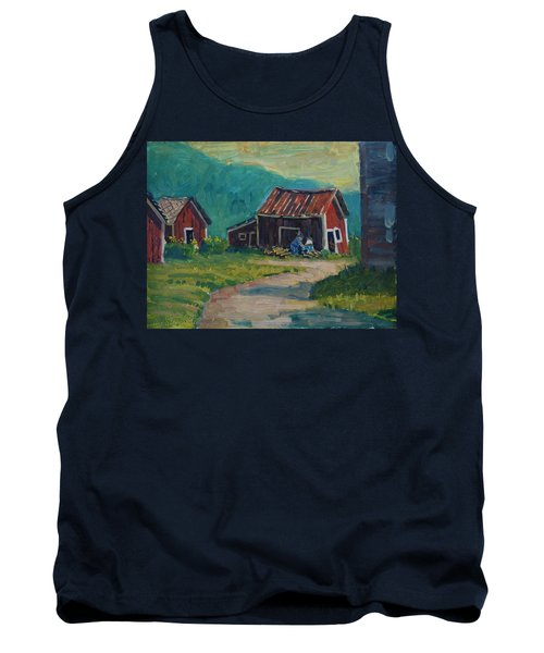 Getting Ready For Winter Tank Top by Len Stomski
