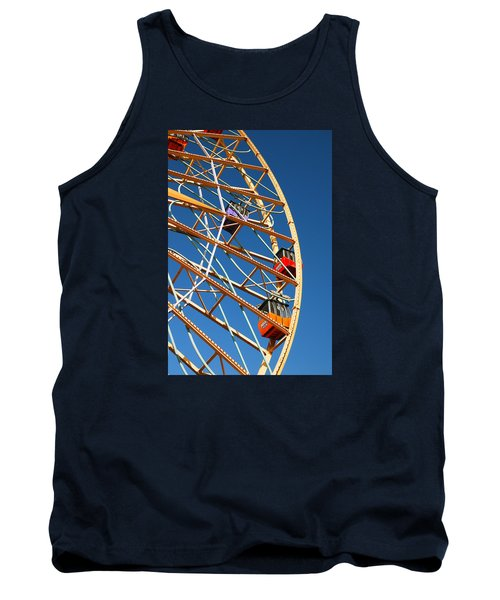 Tank Top featuring the photograph Giant Wheel by James Kirkikis
