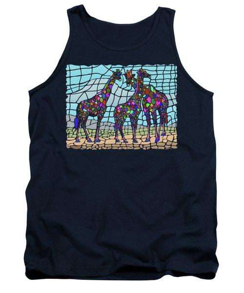 Giraffe Maze Tank Top