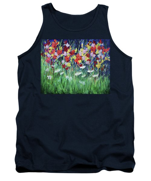 Glad All Over Tank Top by Lee Beuther