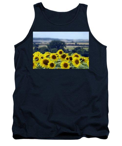 Glorious Sunflowers Tank Top
