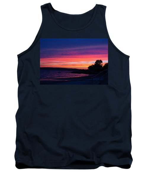 Gloucester Harbor Beach Tank Top