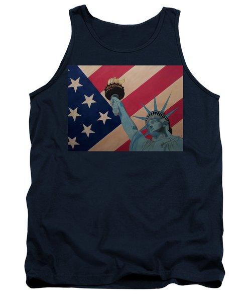 God Bless The Usa Tank Top