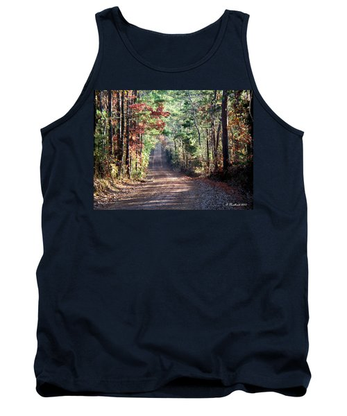 Tank Top featuring the photograph Going Home by Betty Northcutt