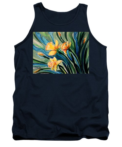 Golden Daffodils Tank Top