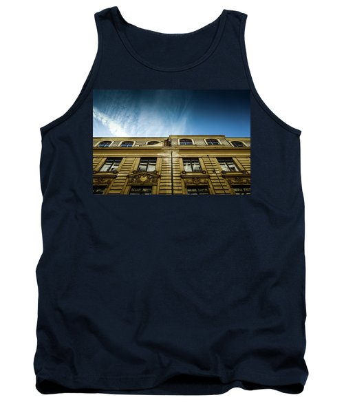 Golden Facade Tank Top by M G Whittingham