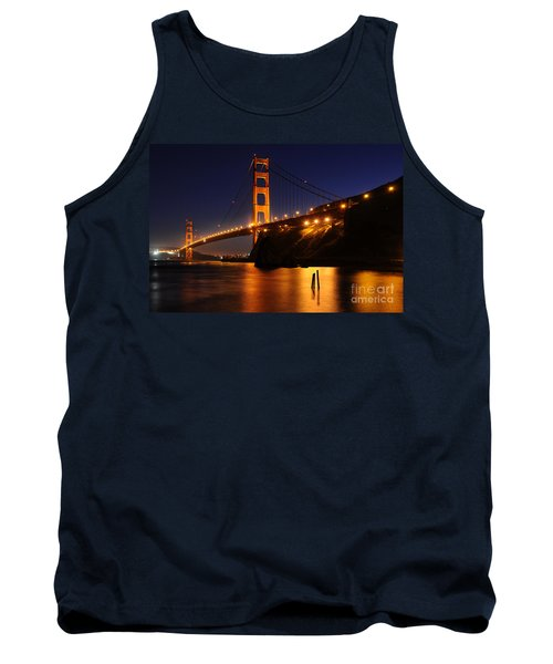 Golden Gate Bridge 1 Tank Top by Vivian Christopher