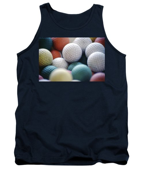 Golf Balls Tank Top