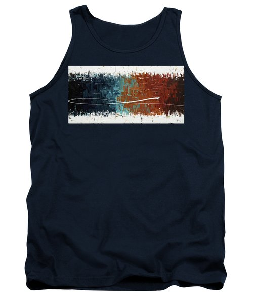Tank Top featuring the painting Good Feeling - Abstract Art by Carmen Guedez