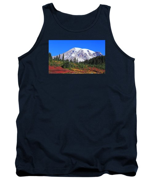 Tank Top featuring the photograph Good Morning Mount Rainier by Lynn Hopwood