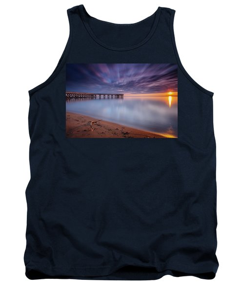 Tank Top featuring the photograph good morning Mr. Sun   by Edward Kreis
