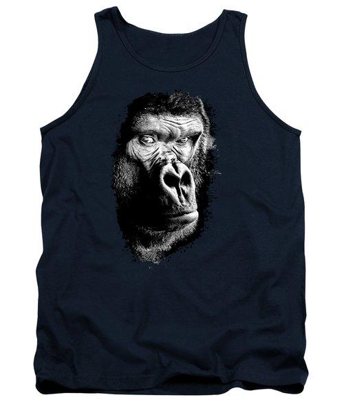 Gorilla Canvas Print, Photographic Print, Art Print, Framed Print, Greeting Card, Iphone Case, Tank Top