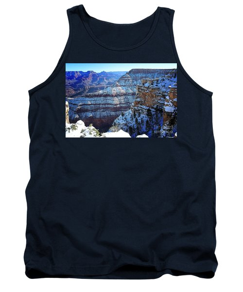 Grand Canyon National Park In Winter Tank Top