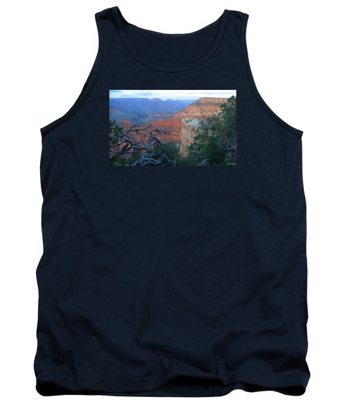 Grand Canyon South Rim - Red Hues At Sunset Tank Top