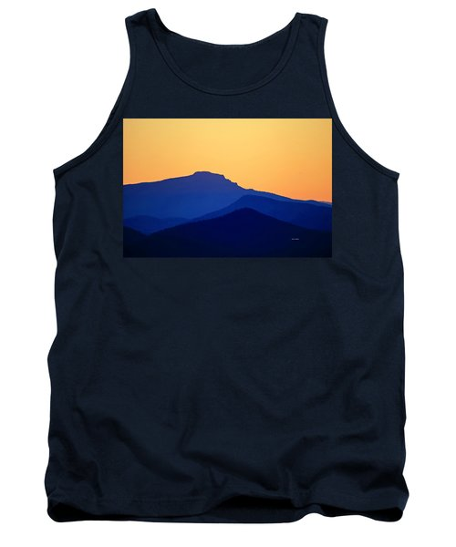 Grandfather Sunset Tank Top by Dale R Carlson