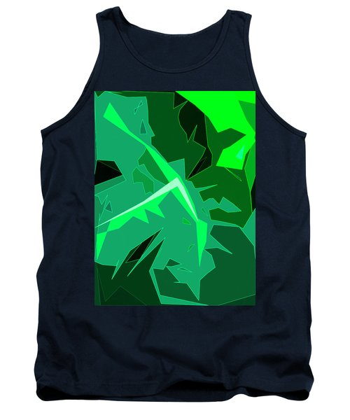 Grape Leaves Tank Top