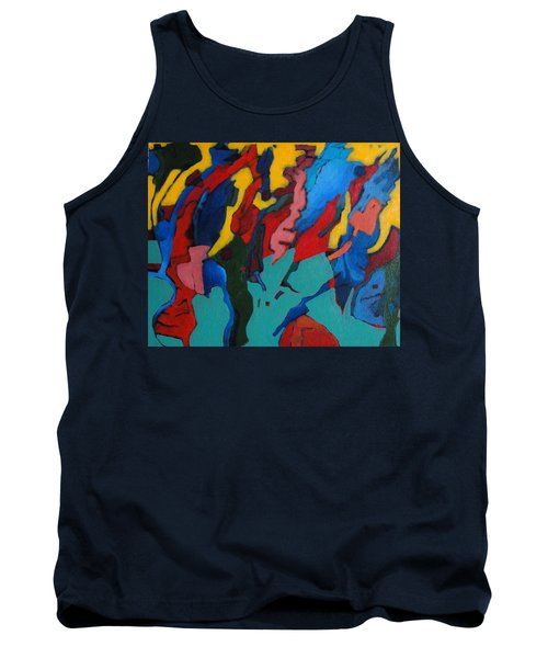 Tank Top featuring the painting Gravity Prevails by Bernard Goodman