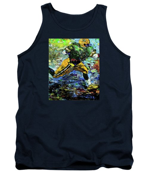 Green Bay Packers Tank Top by Walter Fahmy