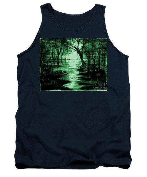 Green Mist Tank Top
