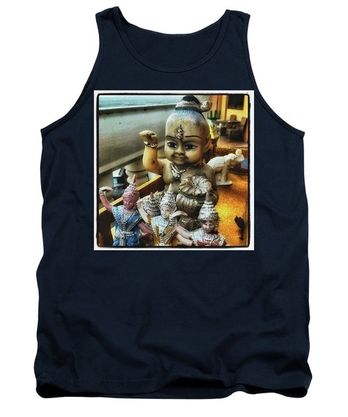 Tank Top featuring the photograph Greetings From Thailand. These Jolly by Mr Photojimsf