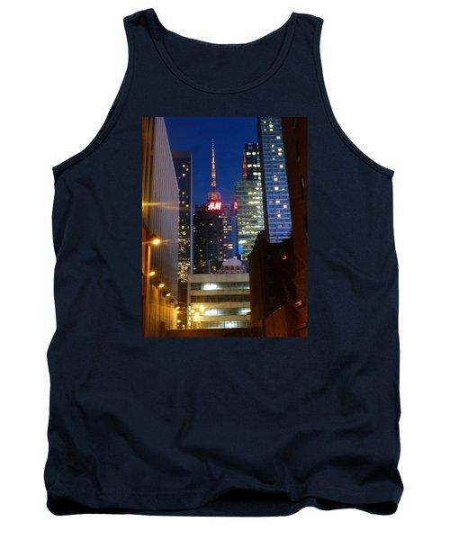 H M Building Tank Top by Helen Haw
