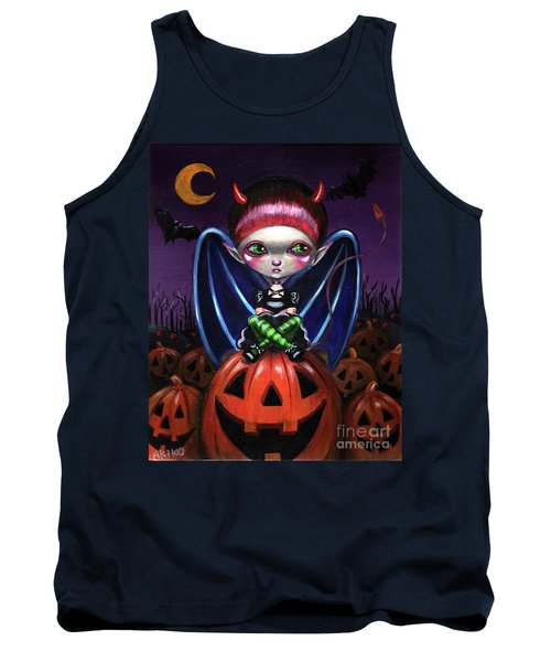 Halloween Little Devil Tank Top