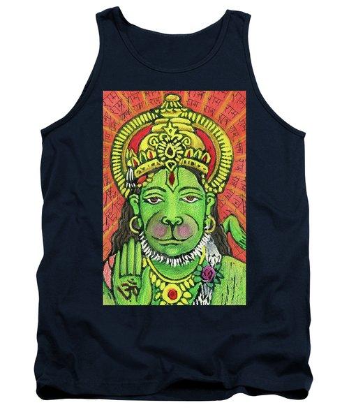 Hanuman Portrait  Tank Top