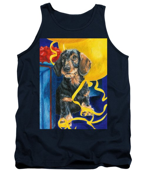 Tank Top featuring the drawing Happy Birthday by Barbara Keith