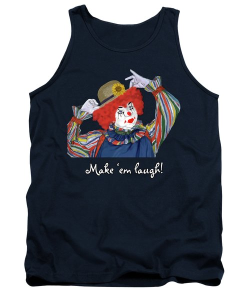 Happy Clown Tank Top
